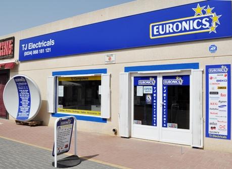 TJ Electricals  EURONICS Camposol Mazarròn