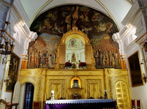 Aledo, Iglesia de Santa María Real