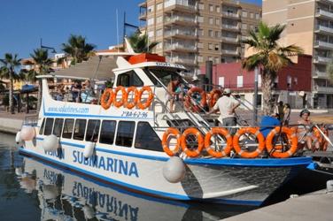 Solaz Lines boat trips in La Manga and Puerto de Mazarrón