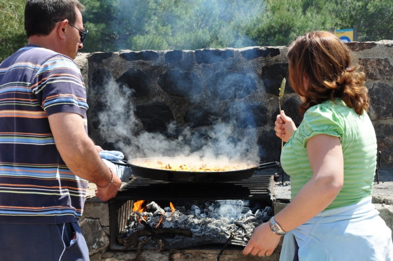 Use of picnic and BBQ points in the Sierra Espuña 2018 info