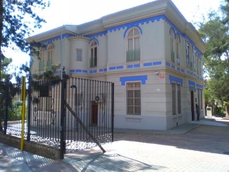 The Palacete de Villa Rías, home to the esparto grass museum of Archena