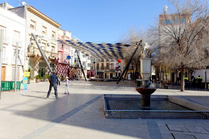 Plaza de la Corredera in Calasparra