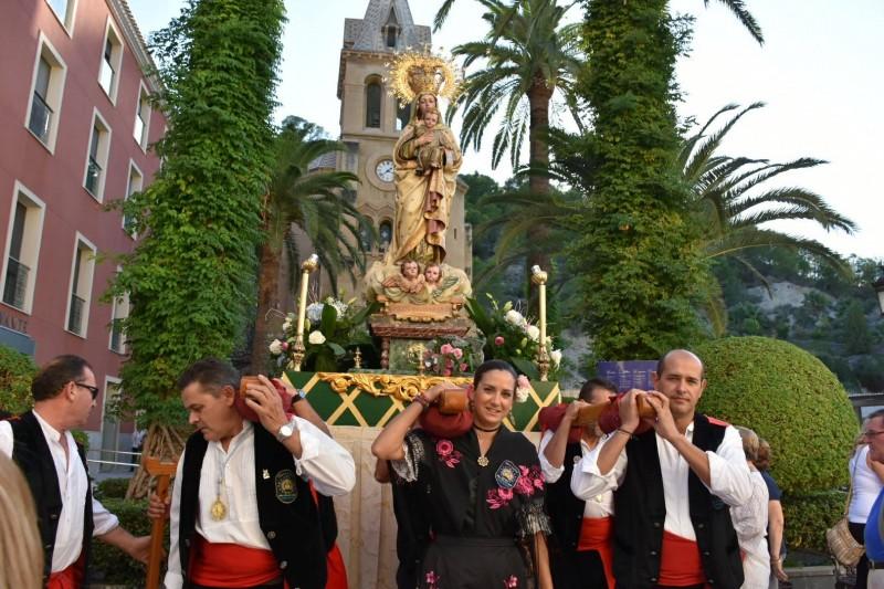 The church of the Virgen de la Salud in the Balneario of Archena