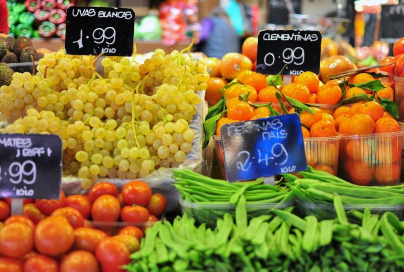 Weekly street market in Cieza