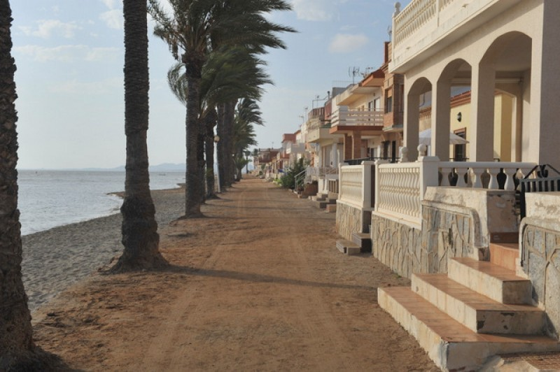 <span style='color:#780948'>ARCHIVED</span> - Seafront walk between Punta Brava and Los Urrutias to be completed this year