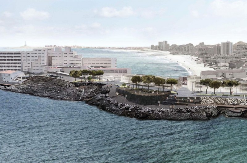 <span style='color:#780948'>ARCHIVED</span> - Cartagena backs revised Playa Galúa seafront walk plans