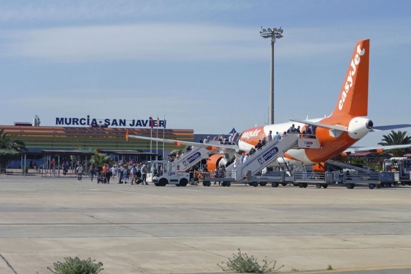<span style='color:#780948'>ARCHIVED</span> - San Javier airport had its busiest June for 7 years last month