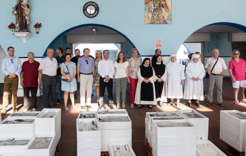 <span style='color:#780948'>ARCHIVED</span> - 900 kilos of fresh fish for local charities to celebrate the Virgen del Carmen in Cartagena