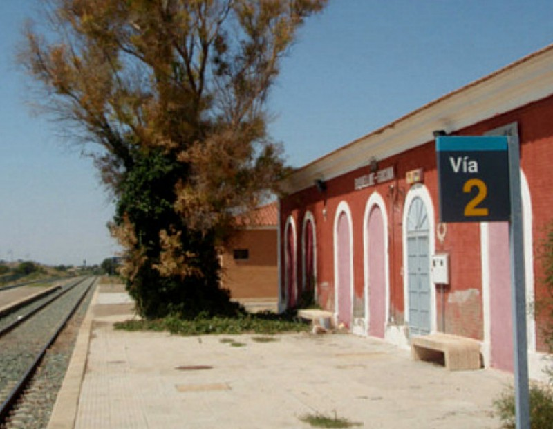 <span style='color:#780948'>ARCHIVED</span> - Could Cartagena AVE link re-open Hacienda Riquelme station?
