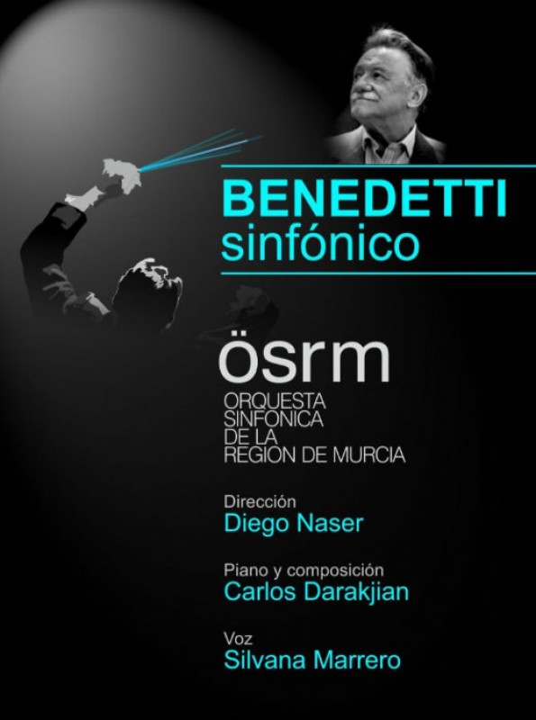 11th October, Benedetti Sinfónico at the Auditorio Víctor Villegas in Murcia