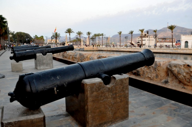 <span style='color:#780948'>ARCHIVED</span> - Friday April 5th Cartagena: ENGLISH LANGUAGE TOUR of Naval Cartagena with tapas