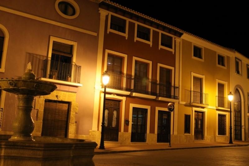 Plaza Vieja in Alhama de Murcia