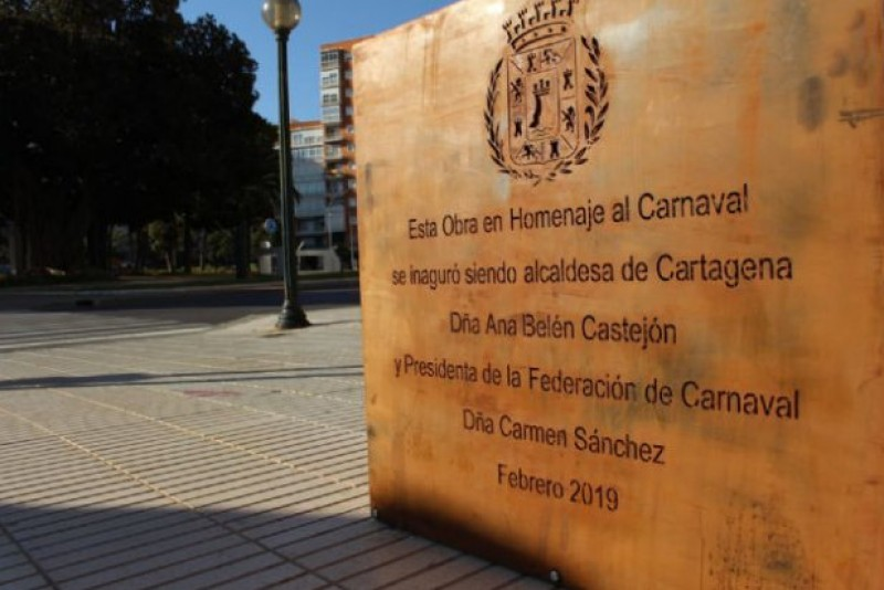 <span style='color:#780948'>ARCHIVED</span> - Embarrassing spelling errors on new Cartagena monument