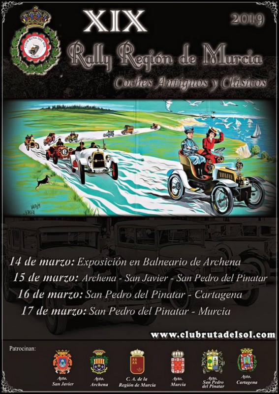 <span style='color:#780948'>ARCHIVED</span> - 14th to 17th March annual journey of Club Ruta del Sol around the Murcia Region
