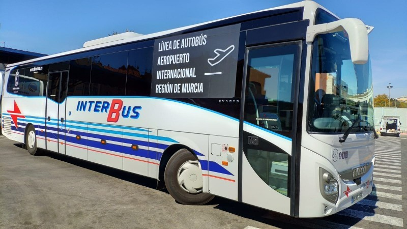 <span style='color:#780948'>ARCHIVED</span> - Bus services between Condado de Alhama and Corvera Airport summer 2019