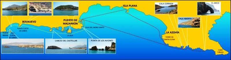 Boat trips in Puerto de Mazarrón with Solaz Lines