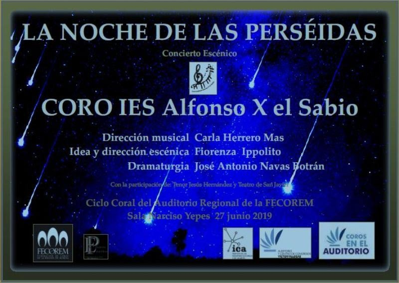 <span style='color:#780948'>ARCHIVED</span> - 27th June, choral concert at the Auditorio Víctor Villegas in Murcia