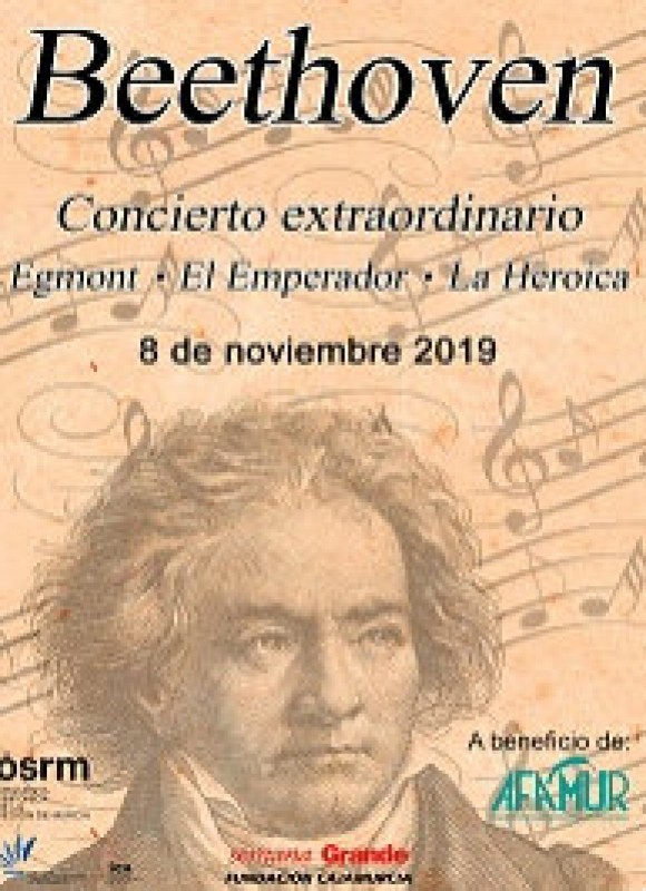<span style='color:#780948'>ARCHIVED</span> - 8th November Beethoven with the OSRM at the Auditorio Víctor Villegas in Murcia