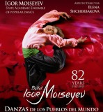 26th November, the Igor Moiseyev Ballet at the Auditorio Víctor Villegas in Murcia