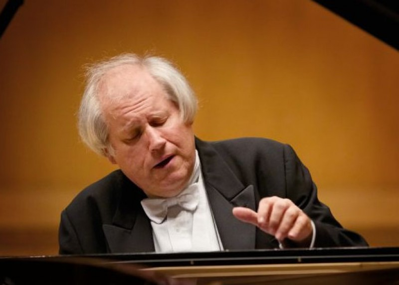 22nd February 2020 star concert pianist Grigory Sokolov at the Auditorio Víctor Villegas in Murcia