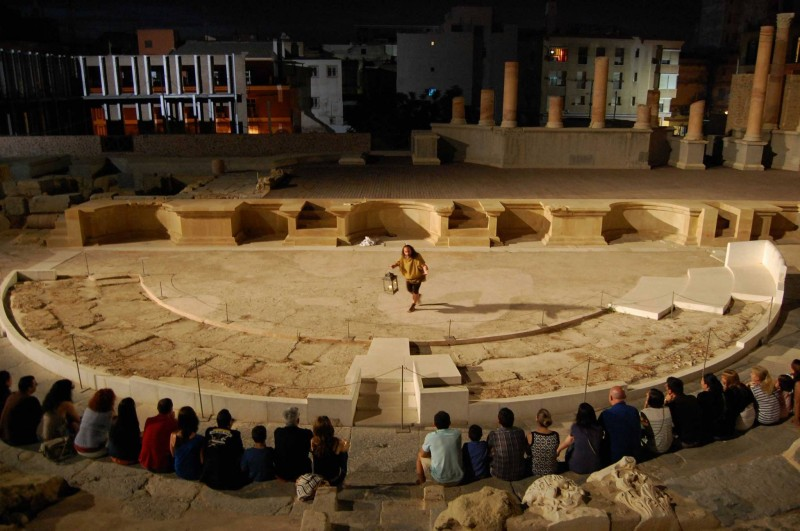 <span style='color:#780948'>ARCHIVED</span> - Tours and activities and events at the Roman Theatre Museum in Cartagena July and August 2019