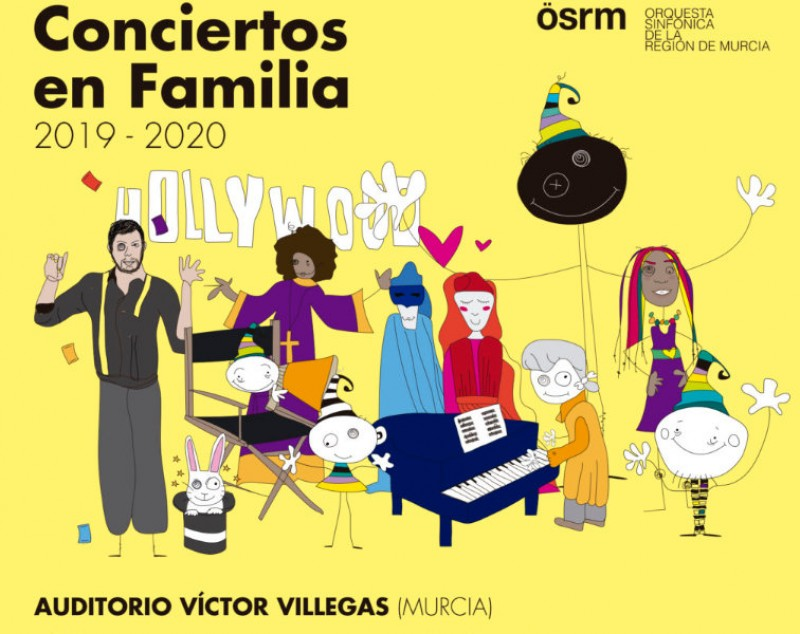 <span style='color:#780948'>ARCHIVED</span> - Tickets on sale for the 2019-20 family concert cycle at the Auditorio Víctor Villegas de Murcia