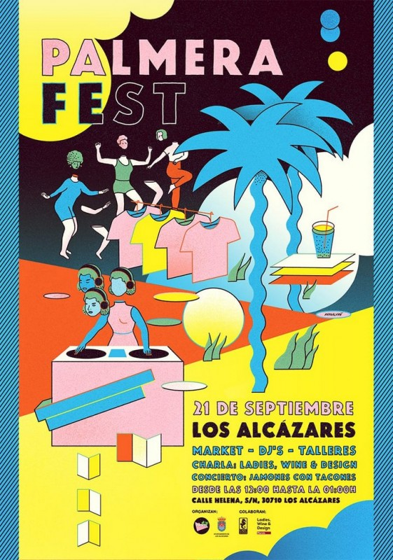 <span style='color:#780948'>ARCHIVED</span> - 21st September Palmera fest brings fun and music to Los Alcázares