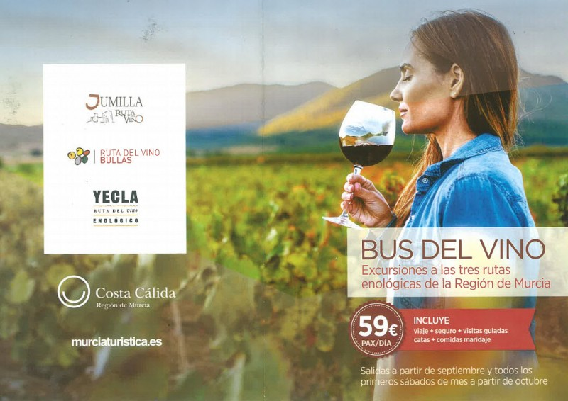 <span style='color:#780948'>ARCHIVED</span> - 19th October The Murcia wine Bus visits Bullas