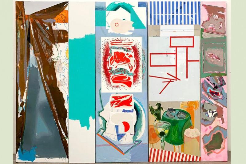 <span style='color:#780948'>ARCHIVED</span> - 19th September to 17th November, Tríplex, Luis Gordillo art exhibition at the Centro Párraga in Murcia
