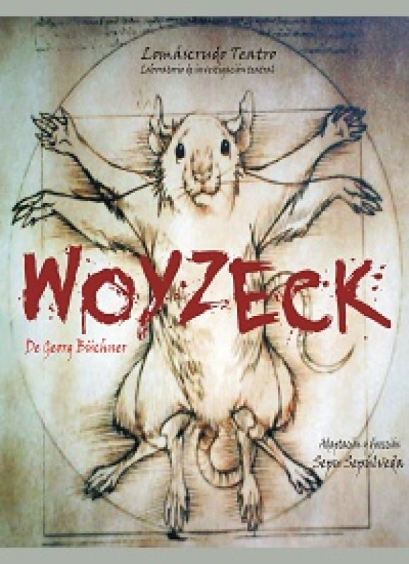 <span style='color:#780948'>ARCHIVED</span> - Saturday 19th October Theatre in Águilas Woyzeck