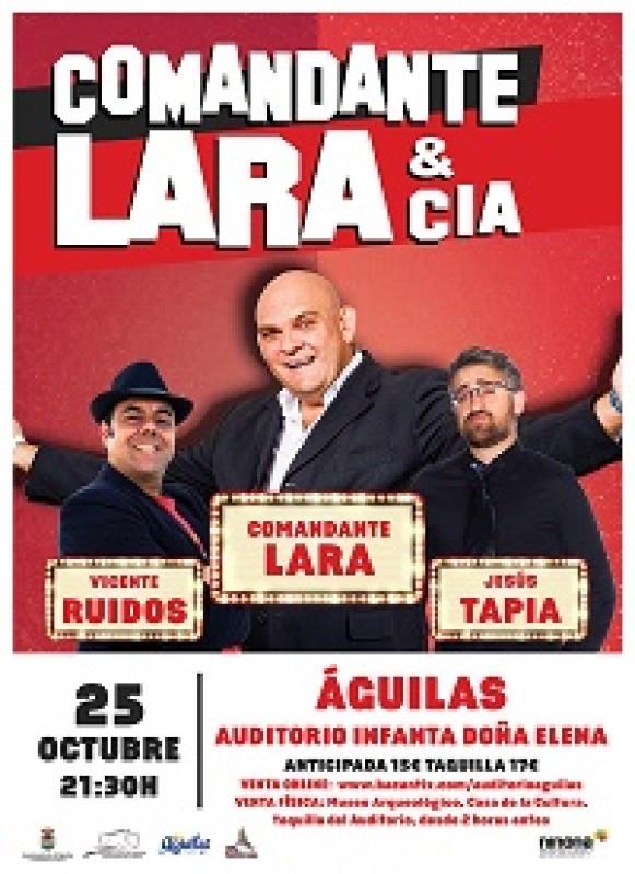 <span style='color:#780948'>ARCHIVED</span> - Friday 25th October Theatre in Águilas Comandante Lara & Cia