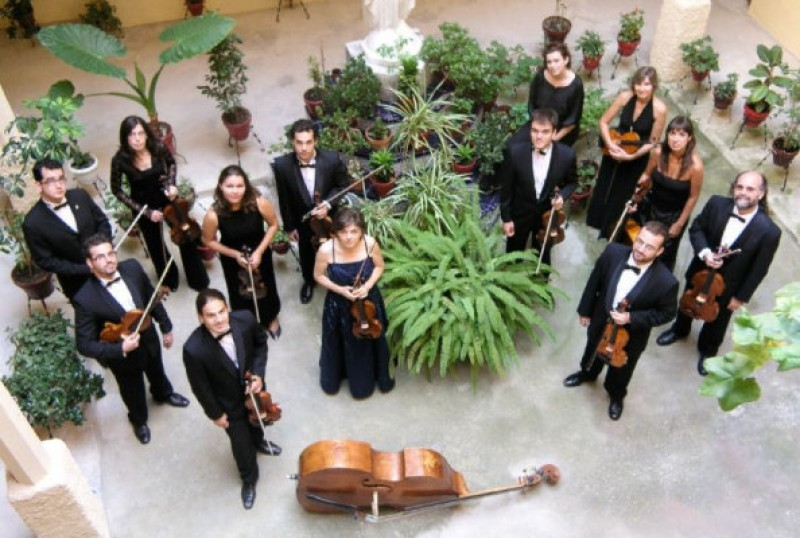 <span style='color:#780948'>ARCHIVED</span> - 18th May 2020, classical concert by Il Concerto Accademico at the Auditorio Víctor Villegas in Murcia
