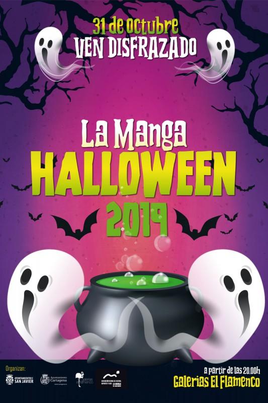 <span style='color:#780948'>ARCHIVED</span> - 31st October Halloween party at Galeria El Flamenco La Manga del Mar Menor