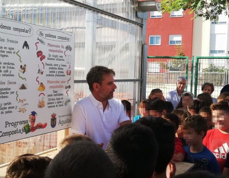 <span style='color:#780948'>ARCHIVED</span> - Águilas schoolchildren learn about the value of compost