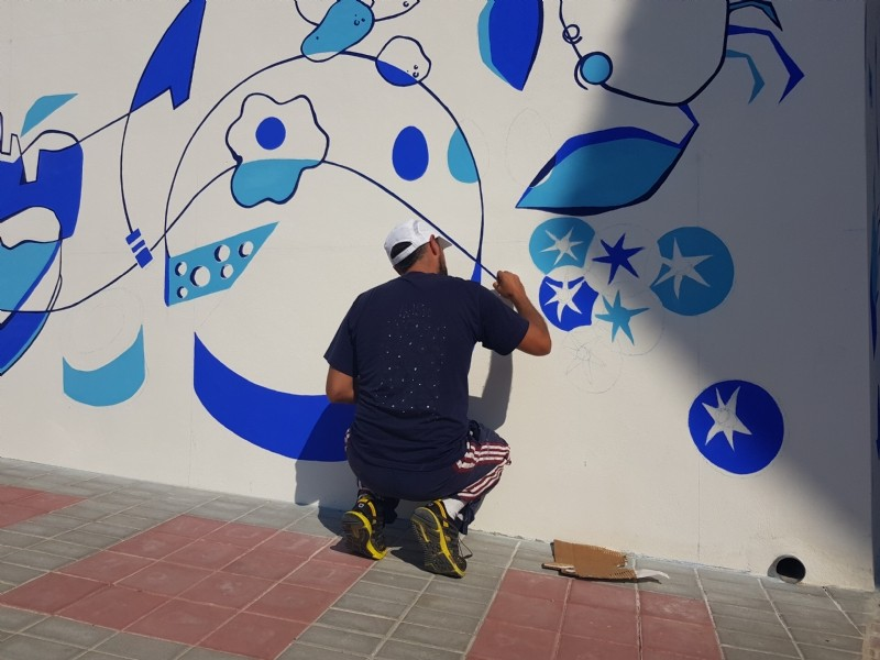 <span style='color:#780948'>ARCHIVED</span> - 9th to 30th November, Espacio Zero, an exhibition of art by Murfy in Alhama de Murcia