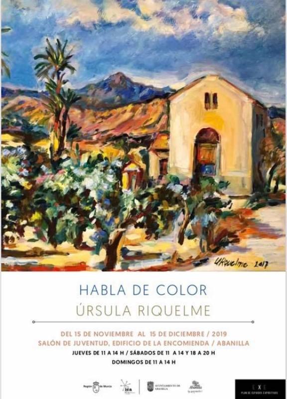 <span style='color:#780948'>ARCHIVED</span> - Habla de Color by Úrsula Riquelme in Abanilla