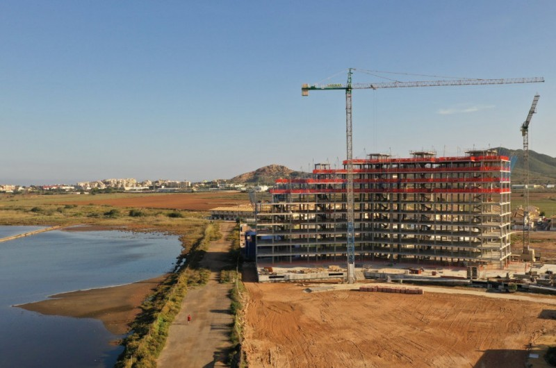 <span style='color:#780948'>ARCHIVED</span> - Cartagena Mayoress backs calls for Mar Menor building moratorium