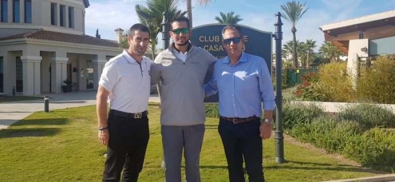 <span style='color:#780948'>ARCHIVED</span> - Spanish PGA Golf tournament at Hacienda del Álamo in December