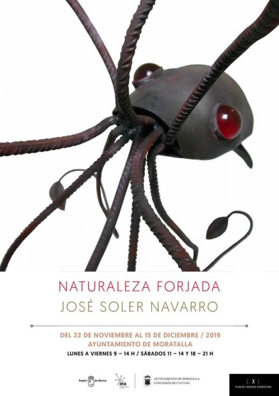 <span style='color:#780948'>ARCHIVED</span> - 22nd November to 15th December Moratalla exhibition: Naturaleza Forjada