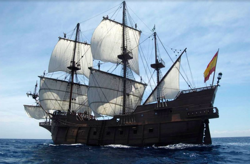 <span style='color:#780948'>ARCHIVED</span> - 4th to 15th December, visit the galleon Andalucía in the port of Cartagena