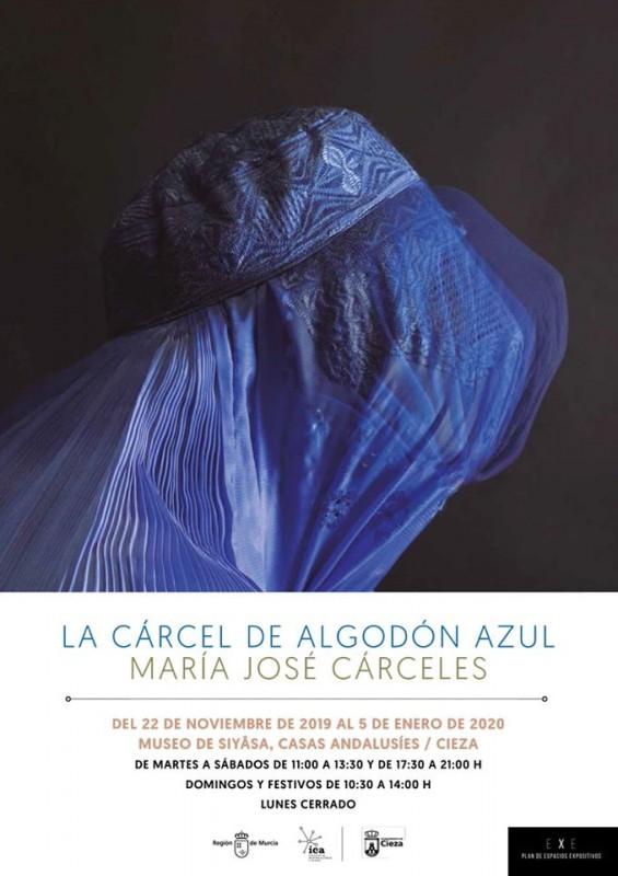 <span style='color:#780948'>ARCHIVED</span> - Exhibition Cieza: La Cárcel de Algodón Azul