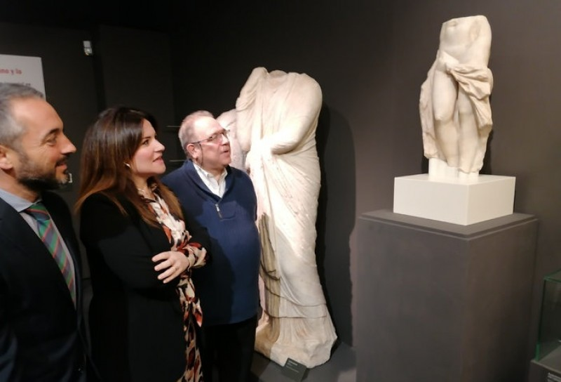 <span style='color:#780948'>ARCHIVED</span> - Bullas museum loses out as Roman sculpture of Venus goes on display in Murcia