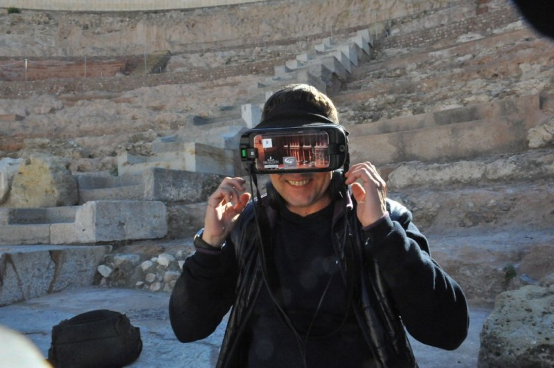 <span style='color:#780948'>ARCHIVED</span> - Saturdays and Sundays in December; Virtual reality tours of the Roman Theatre Museum in Cartagena