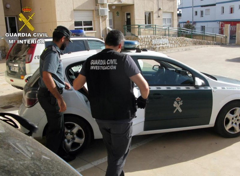<span style='color:#780948'>ARCHIVED</span> - Seven arrested in connection with at least 10 burglaries in San Javier