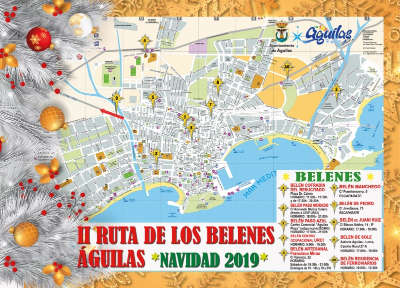 <span style='color:#780948'>ARCHIVED</span> - Route of the nativities in Águilas