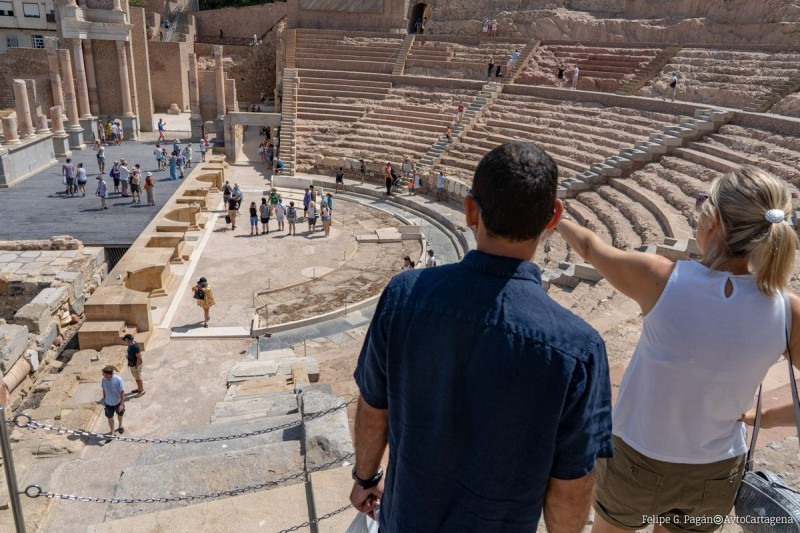 Saturdays and Sundays in January and February; Virtual reality tours of the Roman Theatre Museum in Cartagena