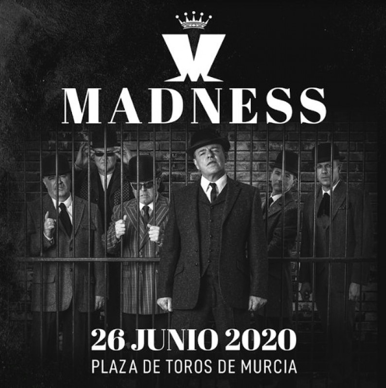 <span style='color:#780948'>ARCHIVED</span> - 26th June, Madness live in concert in Murcia