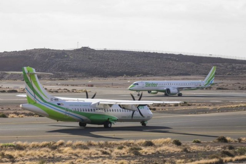 <span style='color:#780948'>ARCHIVED</span> - Binter airlines promoting flights between Corvera airport and the Canary Islands this winter