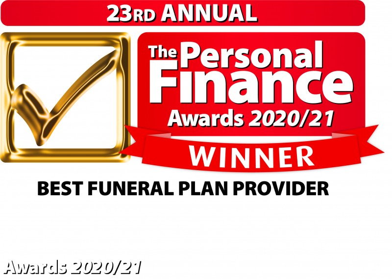 Avalon wins award for Best Funeral Plan Provider for the second year in a row at this year's Personal Finance Awards