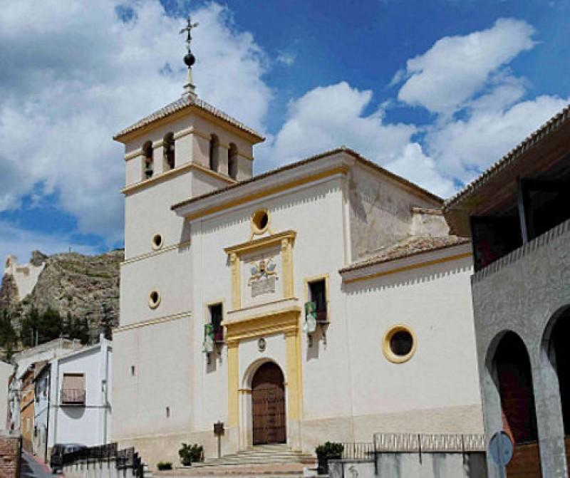 The parish church of San Pedro Apóstol in Calasparra